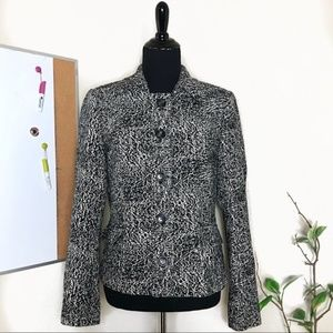 Neiman Marcus Exclusive Black and White Jacket